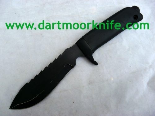 Dartmoor Survival Knife – Rare NATO Black Blade